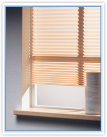 Pleated roller-blinds